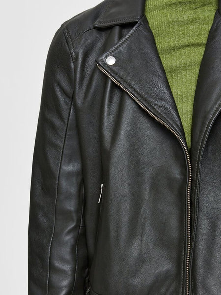 Selected Femme Katie Leather Jacket - Roisin