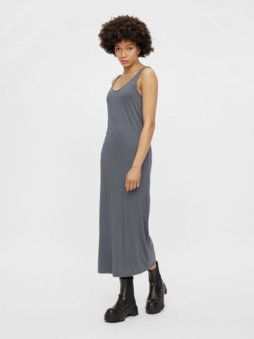 Pieces Kalli Maxi Tank Dress - Ombre Blue