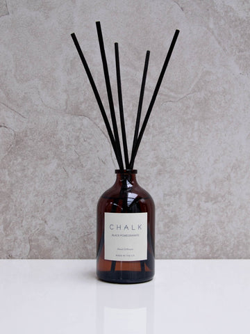 Chalk UK Amber Glass Diffuser - Black Pomegranite