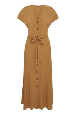 BYoung Fatima Long Dress - Safari