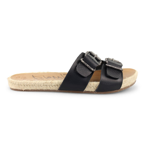Blowfish Malibu Vegan Sandal - Black Dyecut