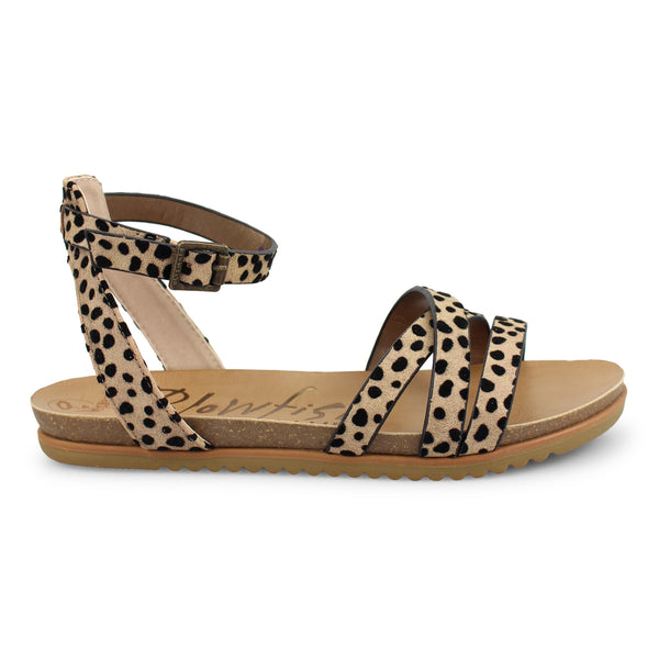 Blowfish Malibu Vegan Sandal - Sand Pixie Leopard