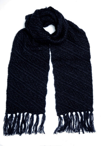 Boardmans Caroline Scarf - Navy