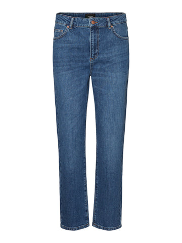 Vero Moda Carla Regular straight Jeans - Medium Blue