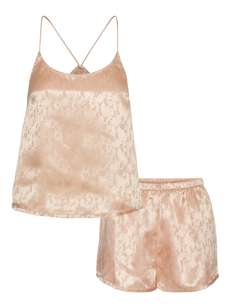 Vero Moda Nightwear Set - Sepia Rose