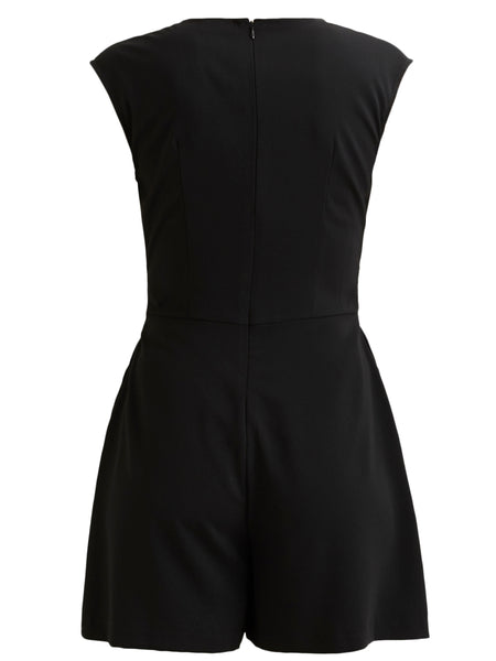 Vila Playsuit - Black