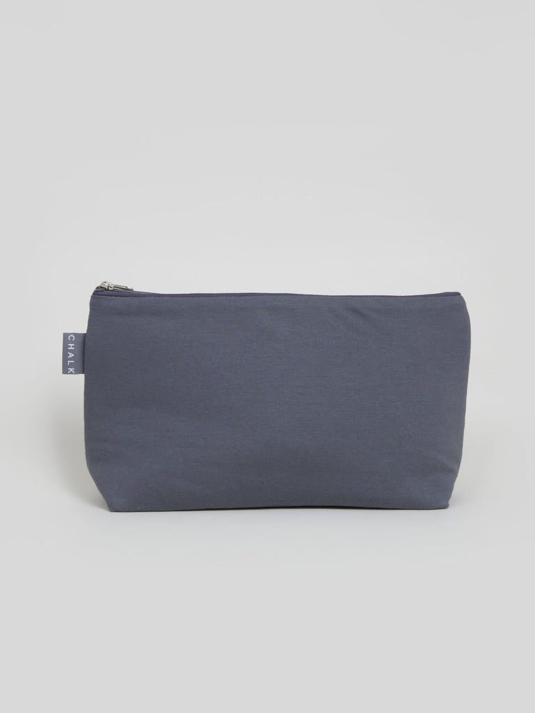 Chalk UK Medium Wash Bag - Charcoal