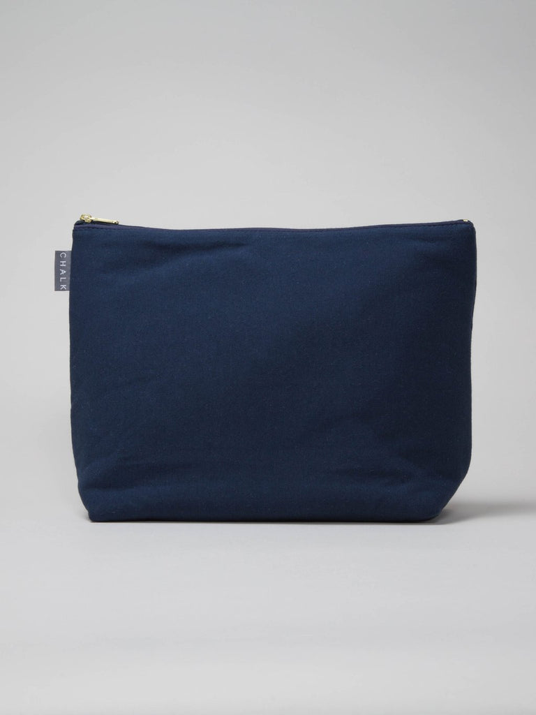 Chalk UK Large Wash Bag - Navy