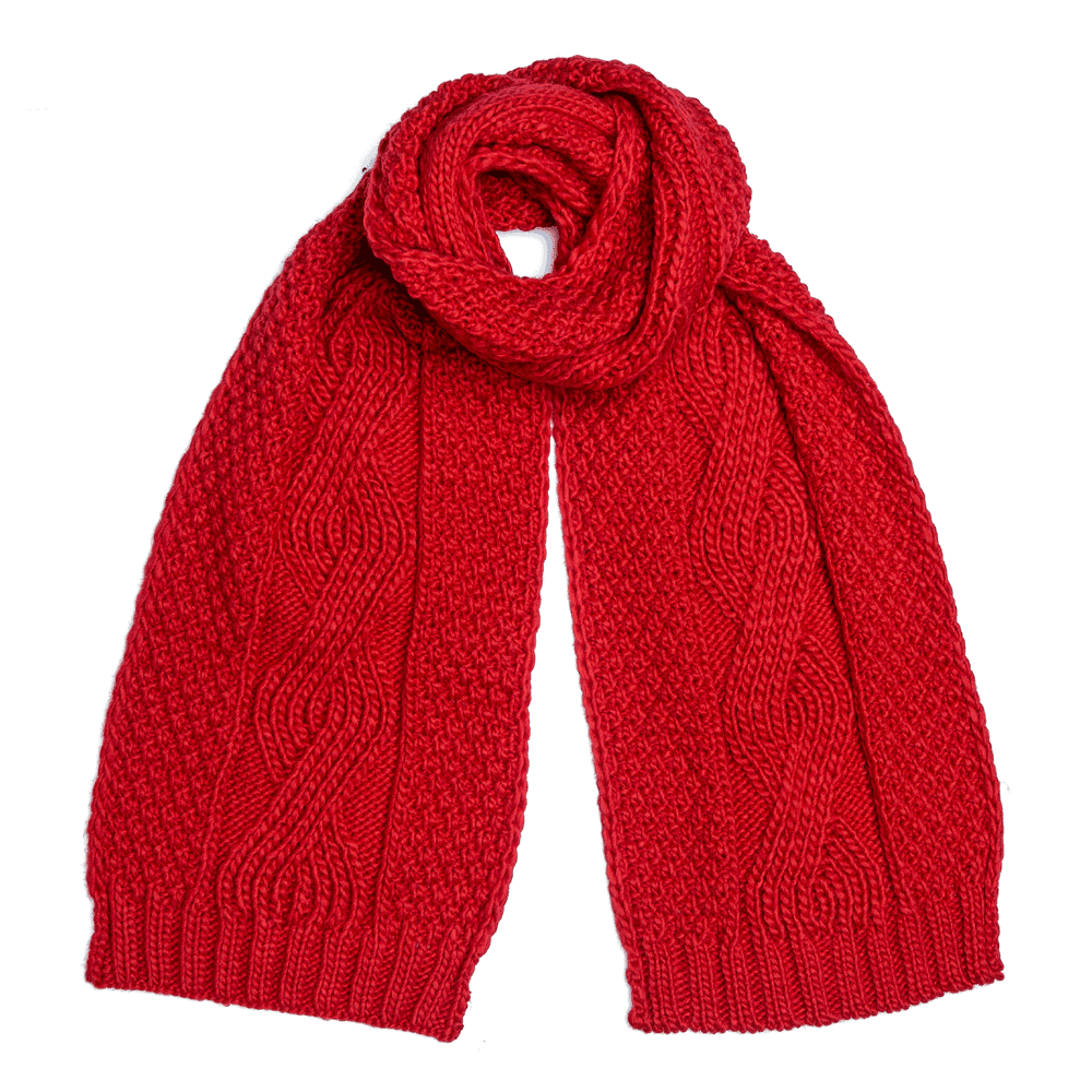 Boardmans Darby Scarf - Red