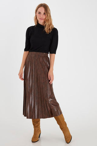 B Young Emila Skirt - Chicory Coffee