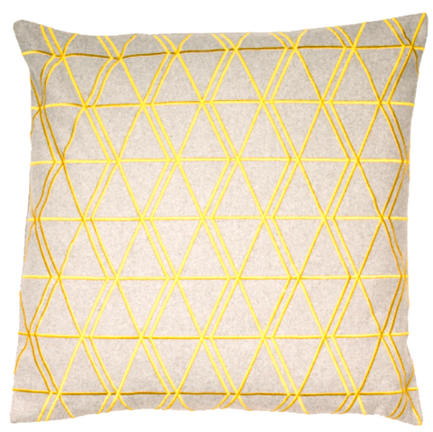 Ludwig Cushion - Mustard