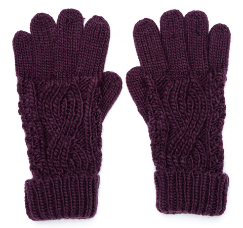 Boardmans Darby Gloves - Plum