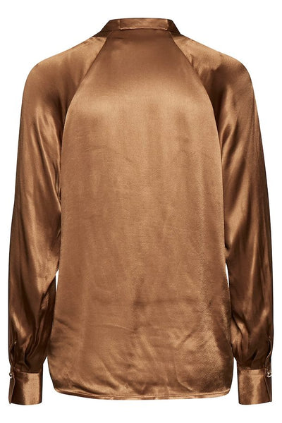 B Young Fayola Blouse - Golden Olive