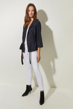 Great Plains Everyday Open Waterfall Jacket - Midnight