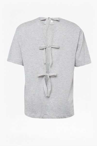 Great Plains Topeka Tie Back Top - Grey Melange