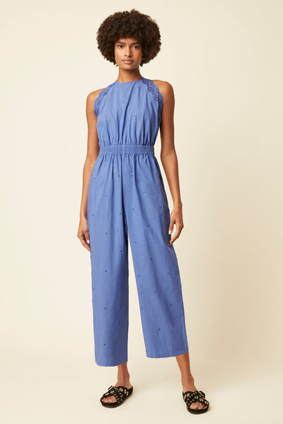 Great Plains Elora Jumpsuit - Cornflower Blue