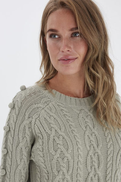 B Young Melissa Jumper - Seagrass