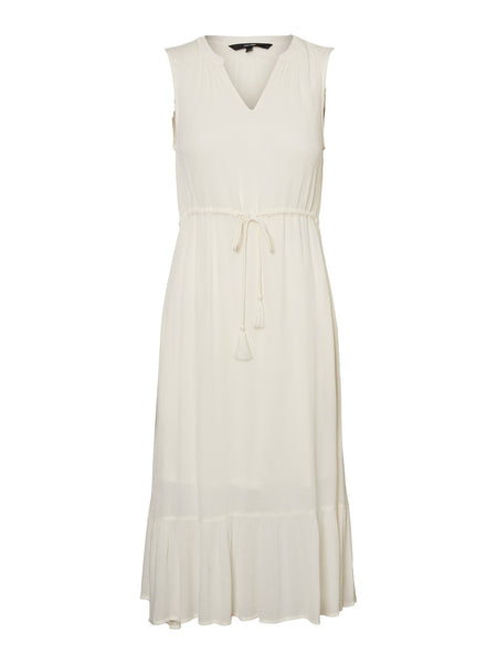 Vero Moda Kiki Midi Dress - Birch
