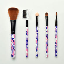 Load image into Gallery viewer, 5 PCS Mini Colorful Flower Makeup Brushes Makeup Beauty Tools Various Styles and Portable 5 Sets