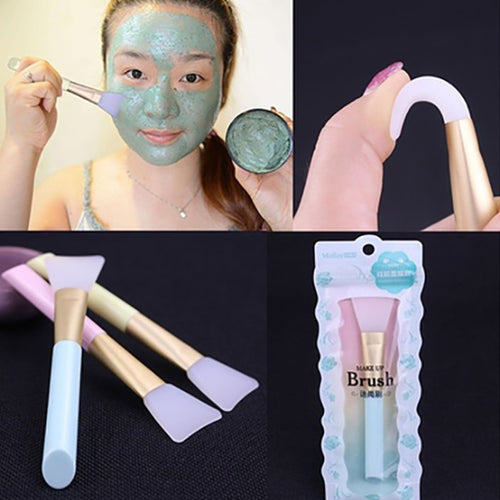 1PC Professional Silicone Facial Mask Brush DIY Mud Mixing Skin Care Beauty Makeup Brushes for Women Girls brochas maquillaje