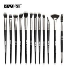 Load image into Gallery viewer, 12 Pcs/lot Makeup Brushes Set Eye Shadow Brushes Blending Eyeliner Eyelash Eyebrow Brushes for Makeup Brochas Maquillaje