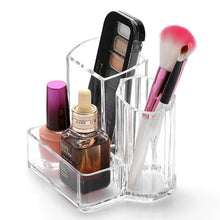 Load image into Gallery viewer, High Quality Makeup Brush Pattern Office Home Makeup Brush Storage Box Pencil Pen Holder Plastic