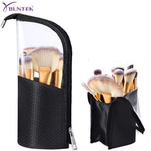Load image into Gallery viewer, YBLNTEK  Makeup Brush Holder Dust-proof Makeup Brush Case Waterproof Travel Cosmetics Bags Brush Organizer for Women Girl