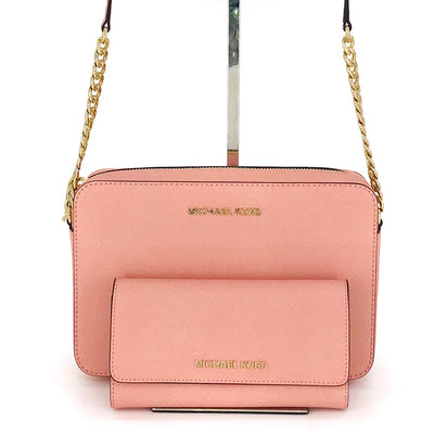 Michael Kors Jet Set Crossbody Bag Wallet Set