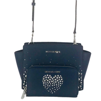2PCS Michael Kors Selma MD Studded Crossbody Set