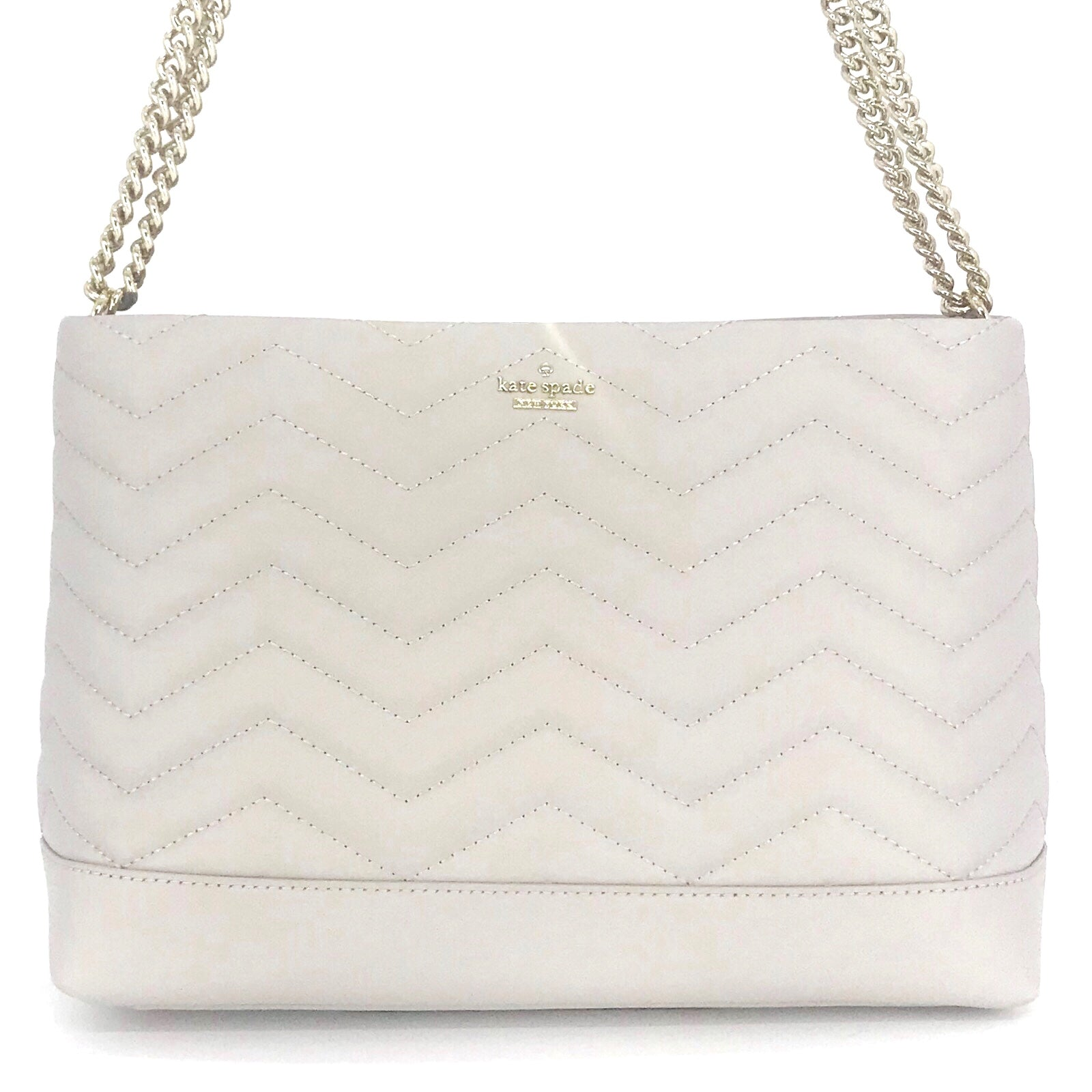Kate Spade Reese Park Lorie Shoulder Bag Ash Grey