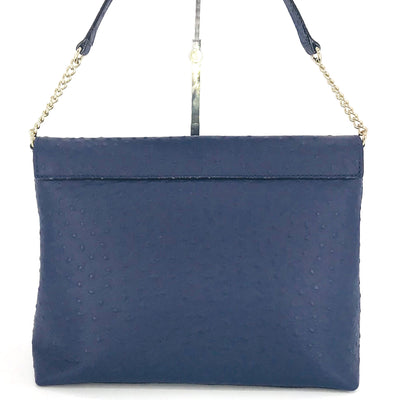 Kate Spade Leena A La Vita Ostrich Shoulder Bag