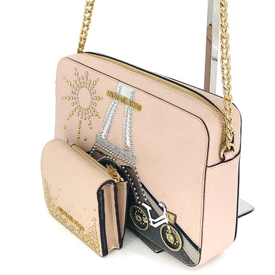 Michael Kors Nouveau Novelty Crossbody Wallet Set