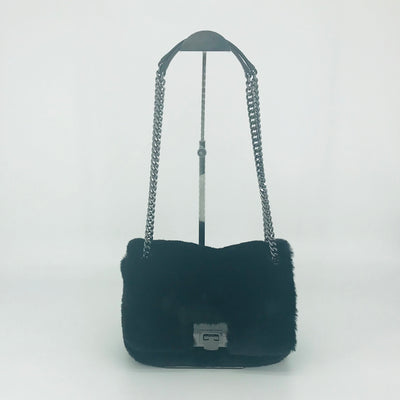 Michael Kors Tina Shoulder Flap Fur Bag
