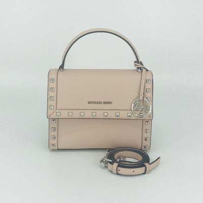 Michael Kors Dillon Stud Medium Messenger Satchel