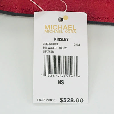Michael Kors Kinsley Medium Wallet Crossbody Bag