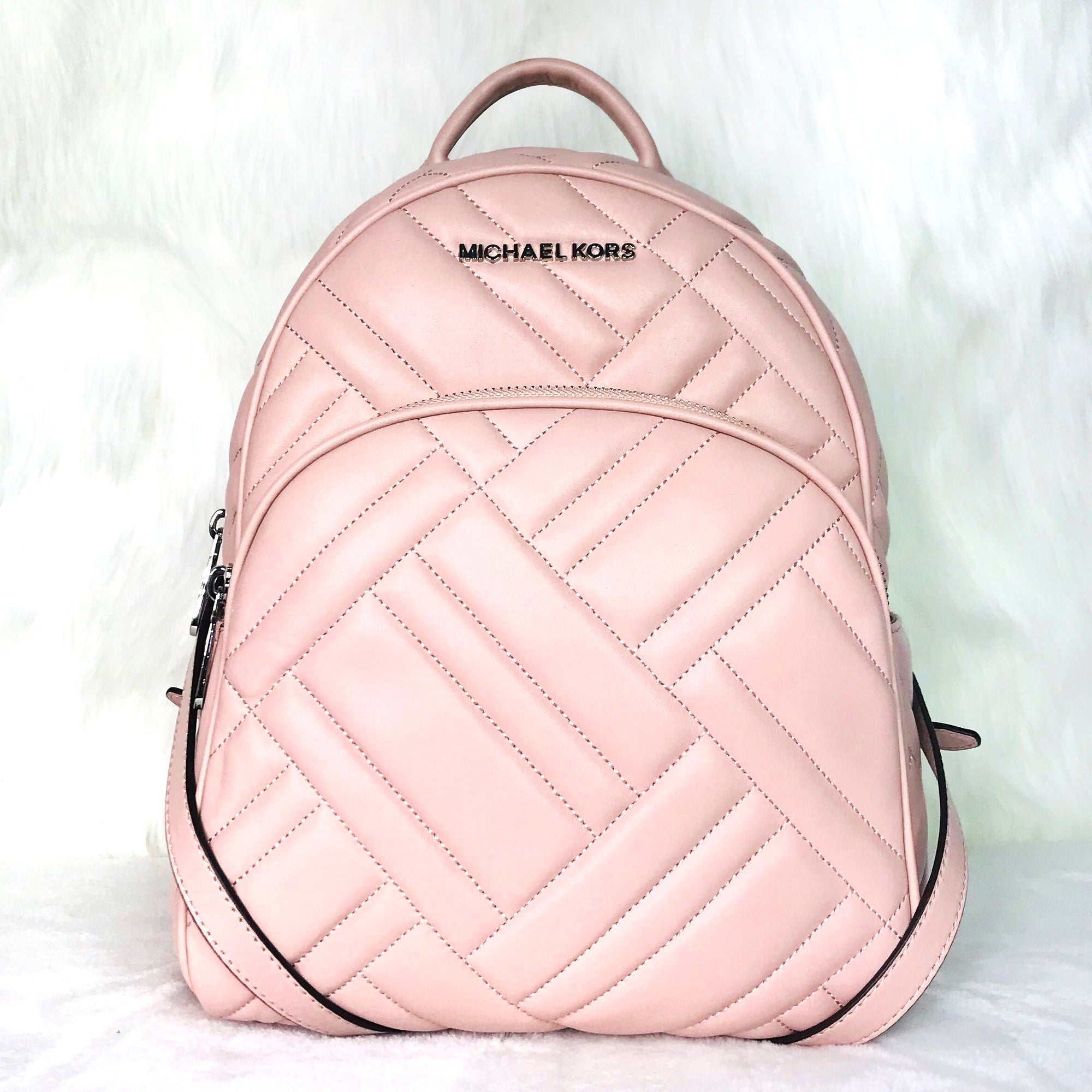 Michael Kors Abbey Quilted Leather BackPack