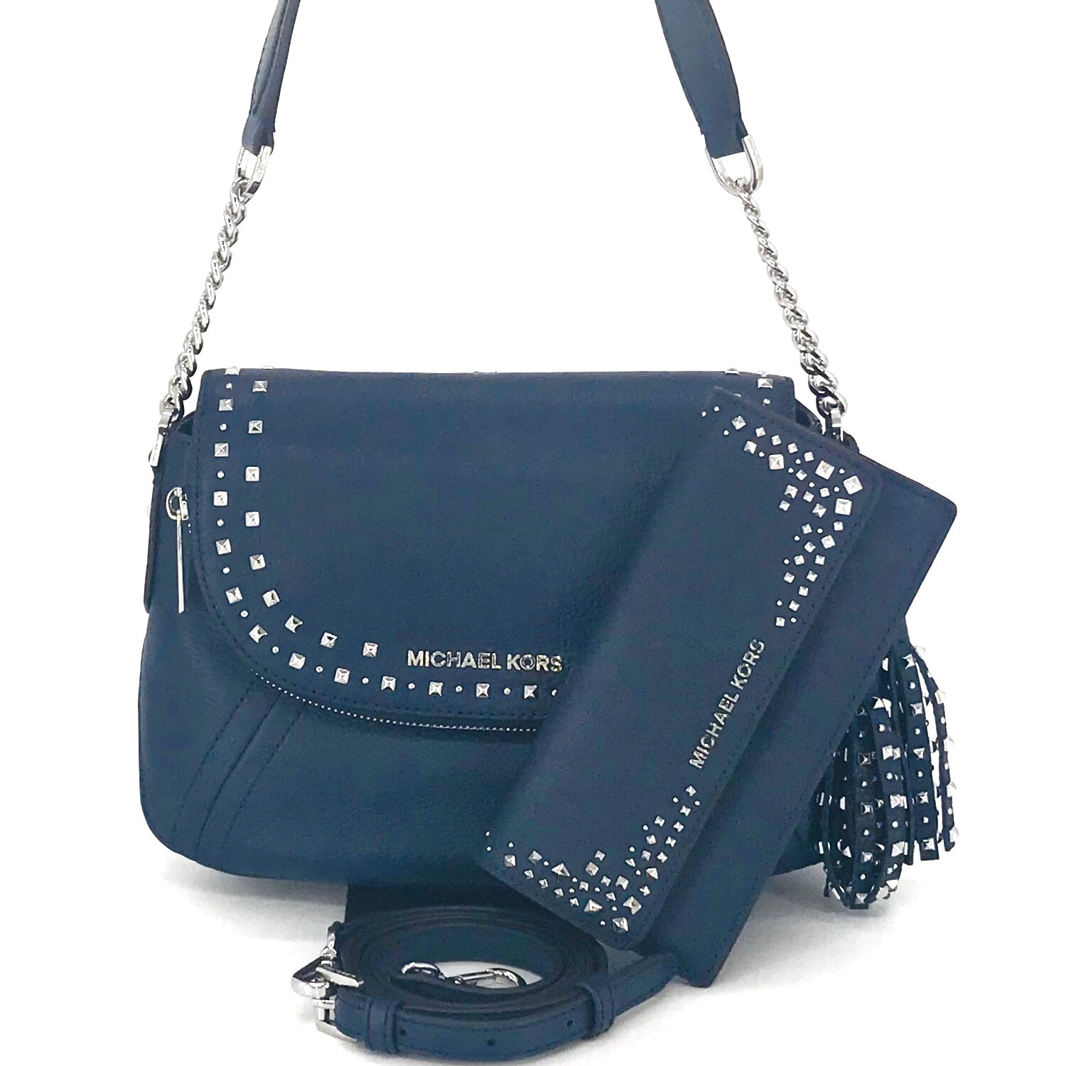 Michael Kors Studded Aria Shoulder bag and Wallet