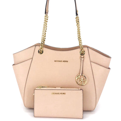 Michael Kors Jet Set Chain Tote Wallet Set