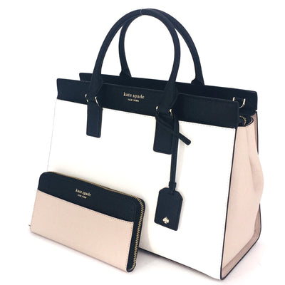 2PCS Kate Spade Large Cameron Satchel Wallet Set
