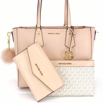 Michael Kors Kimberly 3 in 1 Tote Charm Set