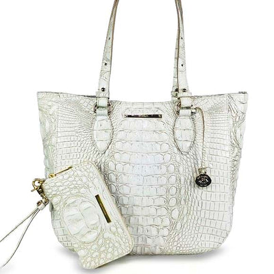 Brahmin | 2PCS Medium Lena Tote w/ Wallet