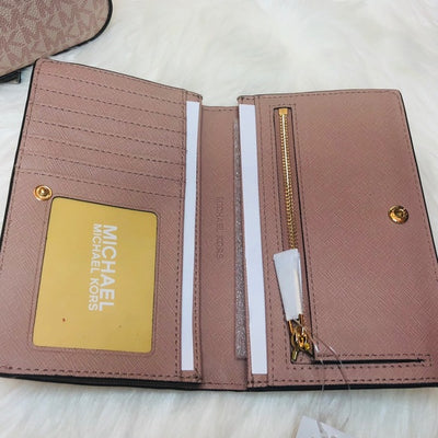 Michael Kors Jet Set Crossbody Wallet Set