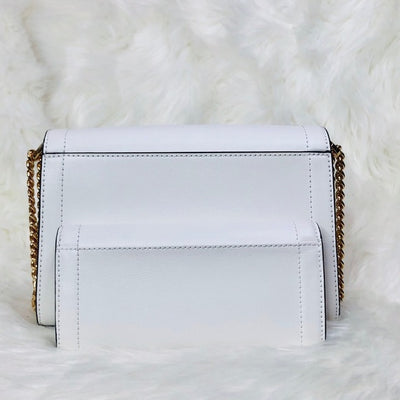 2PCS Michael Kors Kinsley Shoulder Flap Bag Wallet