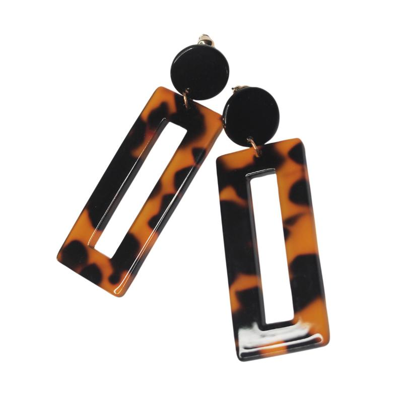 Gallery Acrylic Drop Earrings-Gildie