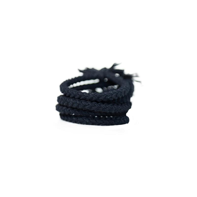 Plaited Hair Ties 5pk-Gildie