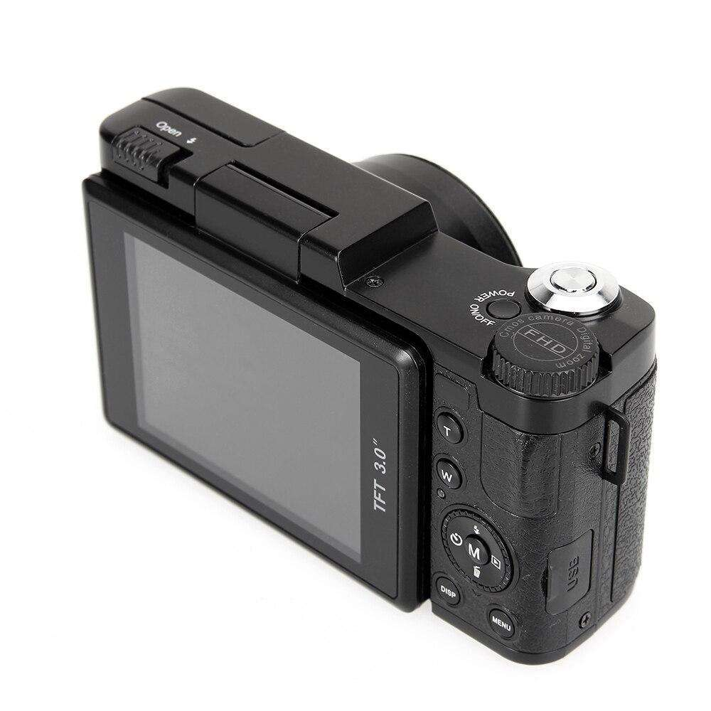 "3 ""TFT LCD Full HD 24MP dijital kamera Video 1080P Kamera CMOS Video Lens + Filtre Mini dijital kamera"