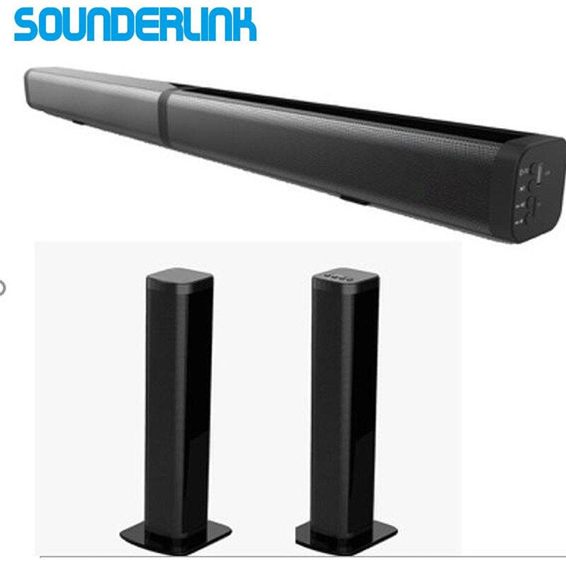 Bluetooth TV Soundbar wireles hoparlör HiFi kulesi Ses ev sineması Ses çubuğu optik için LED TV