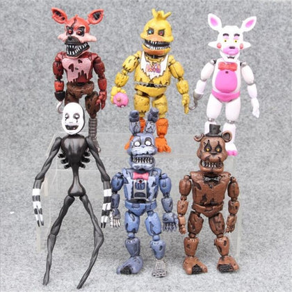 Yeni 16 cm Beş Gece At Freddy Action Figure Bonnie Fnaf Freddy Fazbear Ayı Anime Bebek Pvc Freddy Oyuncaklar Juguetes çocuk Oyuncakları - GlobalCadde | Kaliteli Ürün,Düşük Fiyat!