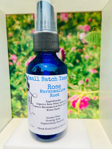 Rose Marshmallow Root Toner