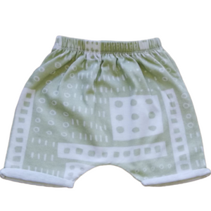 HAAREM SHORTS - GREEN LEGO LIKE SS19/20